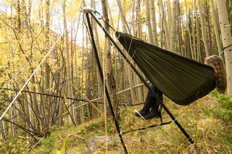 Lightweight Portable Hammock by The Lightest Most Portable Hammock Stand By Yobo