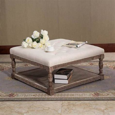 Tufted Fabric Coffee Table by Best 25 Fabric Coffee Table Ideas On