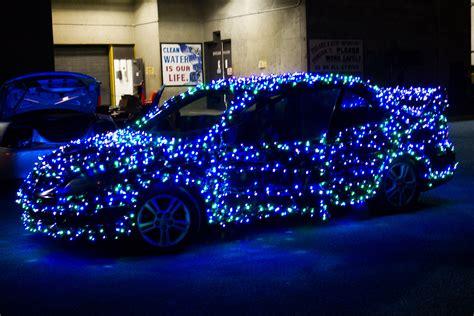 christmas car spreads holiday cheer through savannah