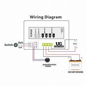 Digital Display Led 6v 12v 24v Pwm Dc Motor Controller