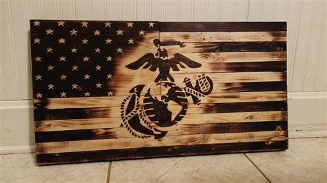 wooden marine flag ryobi nation projects