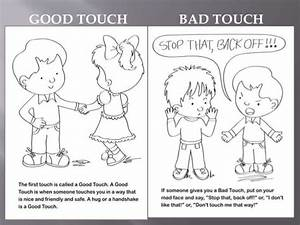 Good Touch Bad Touch Coloring Book