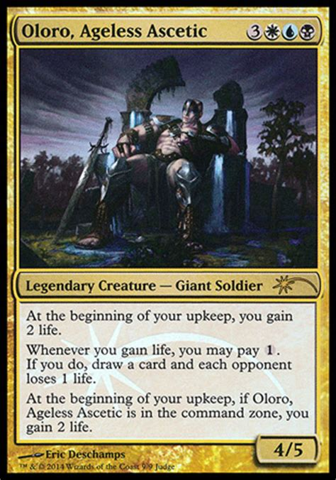 Oloro Ageless Ascetic Commander Deck by Aye Commander February 2015