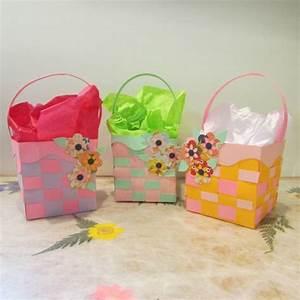 Bricolage De Paques Panier : brico bricolage de paques decoration papier panier ~ Melissatoandfro.com Idées de Décoration