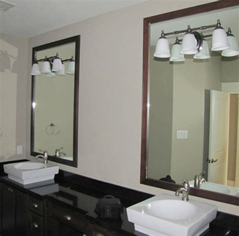 Bathroom Mirrors Houston by Mirrors