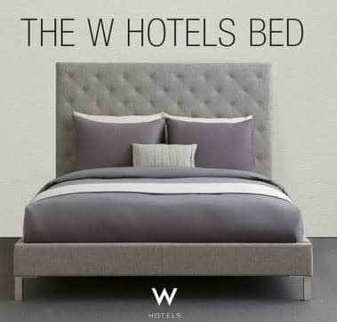 W Hotel Bed by Enter To Win Free W Hotel Bed More Guide2free Sles