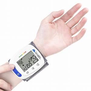 Mabis Digital Wrist Blood Pressure Monitor
