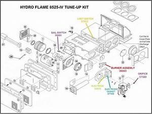 Atwood Furnace Model 8525
