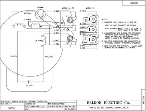 Baldor Single Phase Motor Capacitor Wiring by Baldor Motor Capacitor Wiring Diagram Impremedia Net