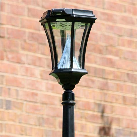 motion sensor light repair victorian pir series solar l post with motion sensor