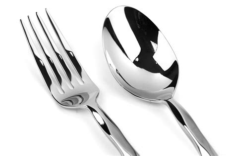 yamazaki cable stainless steel flatware set  piece cutlery