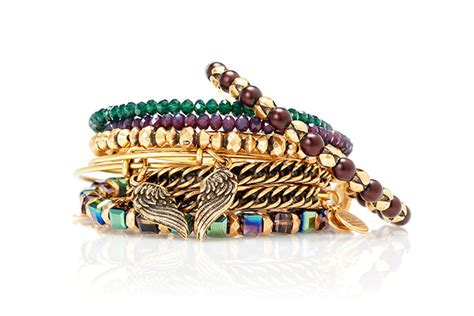 jewellery label alex  anis  christmas collection