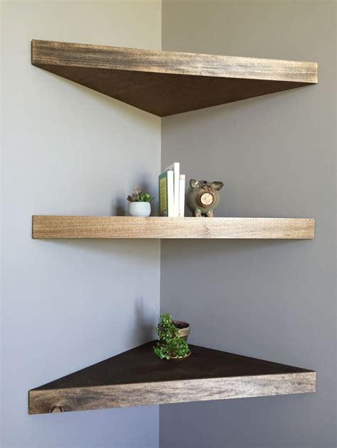 Shelves Ideas Diy by Diy Floating Corner Shelves For The Home Floating