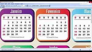 Calendario 2018 Feriados Brasil