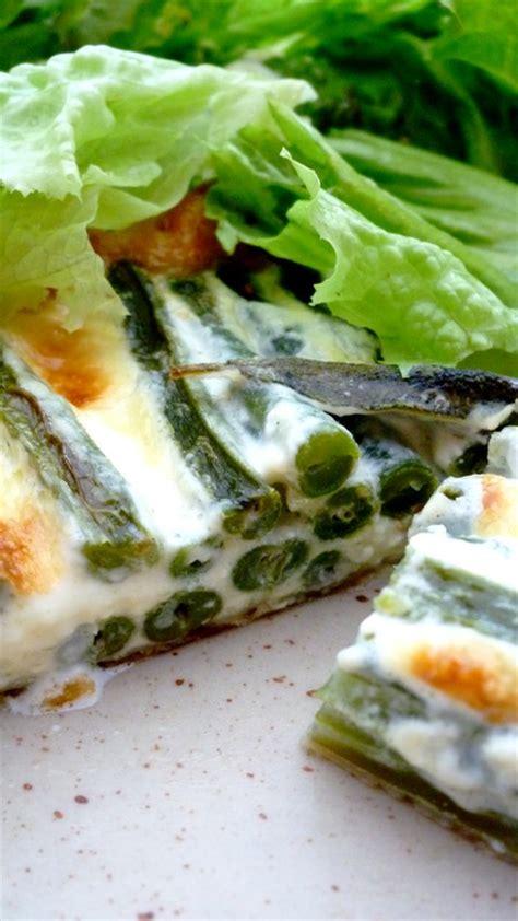 la sauge en cuisine tarte de haricots verts à la sauge cuisine de tous les jours