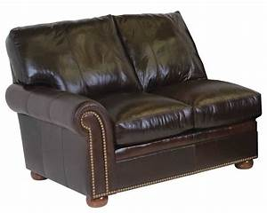 Classic leather easton sectional sofa cl34422 for Easton leather sectional sofa