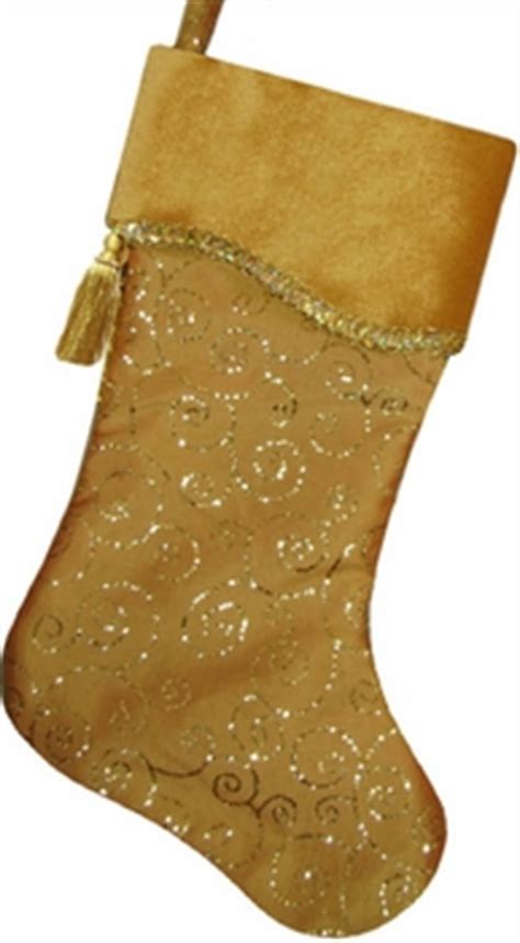 gold christmas stockings gold sparkle embroidered