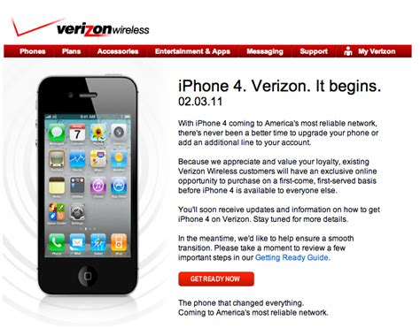 verizon net email iphone thank you for your interest in iphone 4 on verizon