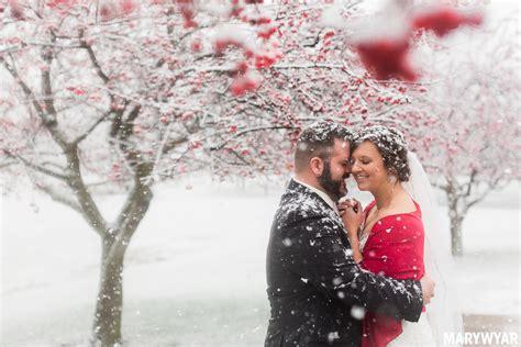 toledo ohio winter wedding  lourdes college sylvania