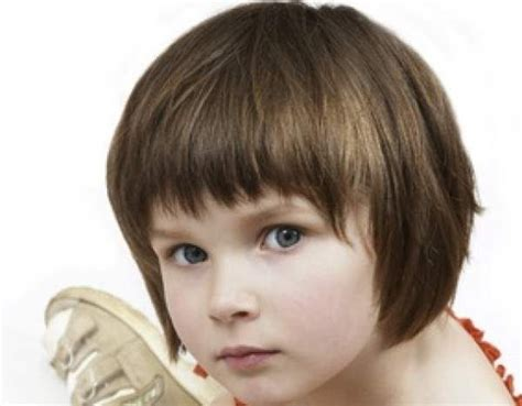 Children Cute Bob Cut For Little Girl