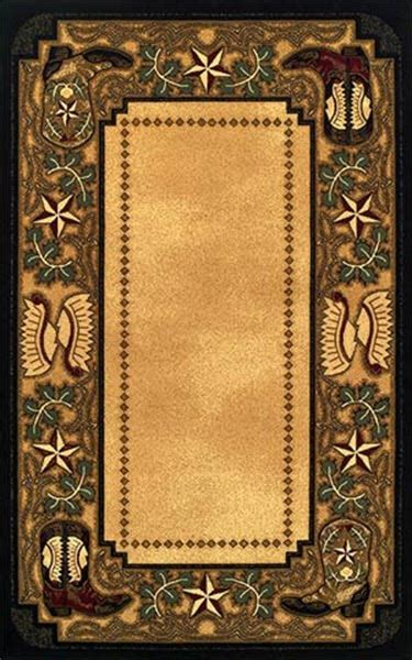 western boots rug collection cabin place