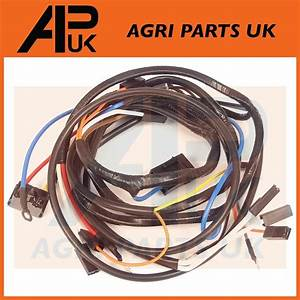 Massey Ferguson 135 Tractor Wiring Harness Loom Alternator Type Only See Diagram