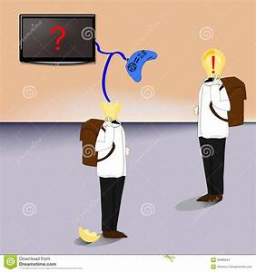 To steal ideas indirectly stock vector. Illustration of ...