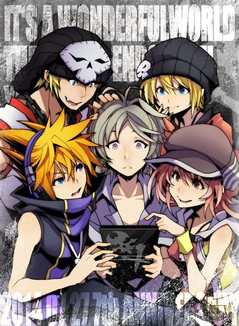 world ends   fan art anniversary anime