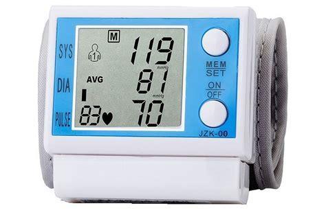 Digital Large LCD Display Wrist Blood Pressure Monitor