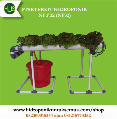 Jual Alat Hidroponik Bogor starterkit hidroponik nft 32 np32 jual alat bahan