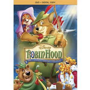 Robin Hood Disney DVD