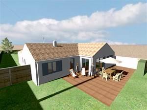 faire la terrasse de sa maison tout ce quil faut savoir With maison jardin et terrasse 3d