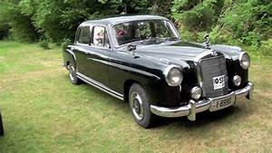 Mercedes Benz C 220 : my 1957 mercedes benz 220 s youtube ~ Maxctalentgroup.com Avis de Voitures