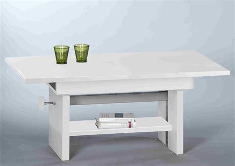 Wohnzimmertisch Höhenverstellbar Weiß by Couchtisch Event Wohnzimmertisch Beistelltisch Tisch