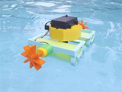Boat Printed 3d Paddle Wheel Party Pool