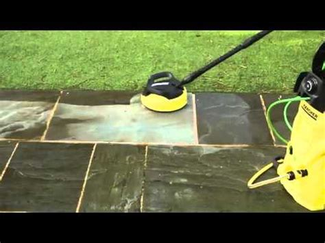 cleaning patios  karcher pressure washer  patio