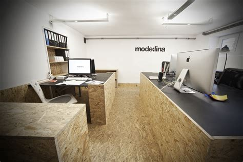 Unique Osb Office Interior By Modelina