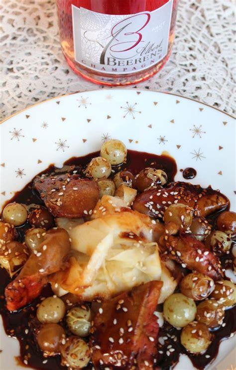 comment cuisiner le foie de lotte foie de lotte teriyaki aux raisins de moissac chagne