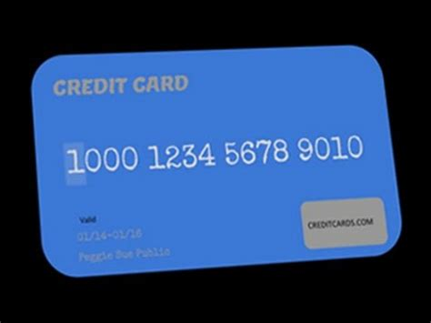 In most cases only certain types of businesses are eligible, and your business may need to earn a certain profit margin each year. Anatomy of a credit card account number - YouTube