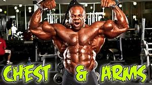 Kai Greene Chest And Arms Workout