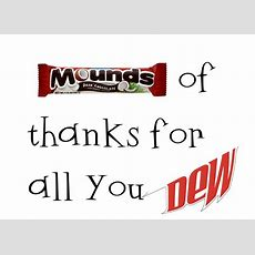Strong Armor Teacher Appreciation  Mounds Of Thanks For All You Dew