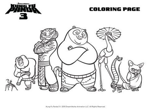 Kung Fu Panda 3 Activity Sheets & Images