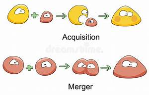 Merger And Acquisition Stock Vector  Illustration Of