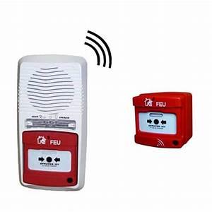 Alarme Factice Voiture Pile : alarme type 4 radio avec 1 d clencheur protection incendie pour la maison ~ Medecine-chirurgie-esthetiques.com Avis de Voitures