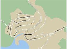 Cala Galdana Street Map and Travel Guide