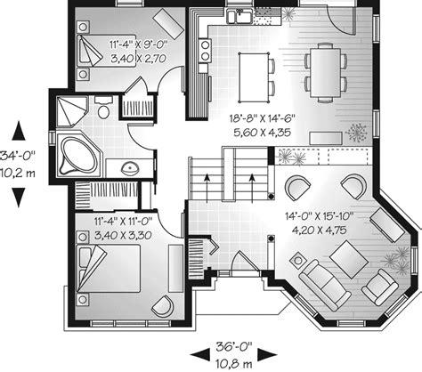 european floor plans huntleigh downs european home plan 032d 0672 house plans