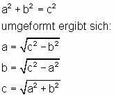 Satz Des Pythagoras Kathete Berechnen : satz des pythagoras mathe brinkmann ~ Themetempest.com Abrechnung