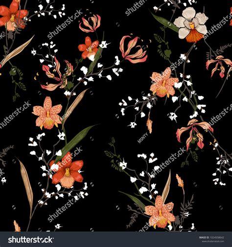 trendy floral pattern    kind  flowers