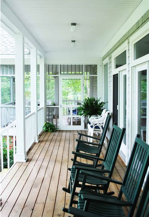 screened porches  summer fun town country living