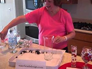 Vase Pearls and how to store water beads AVI - YouTube